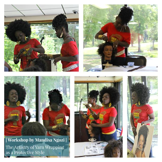 Mandisa Ngozi Workshop