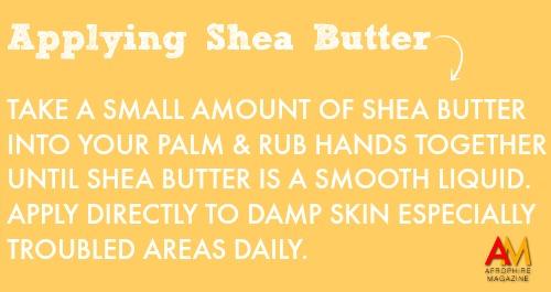 Shea Butter Application